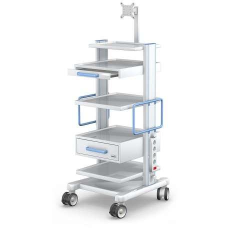 Wózek pod aparaturę medyczną serii APAR-2 AR120-3TECH-MED