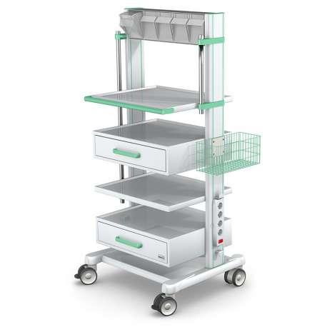 Wózek pod aparaturę medyczną serii APAR-2 AR140-4 TECH-MED