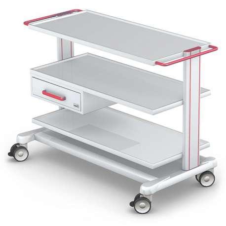 Wózek pod aparaturę medyczną serii APAR-3 PAR80-1 TECH-MED