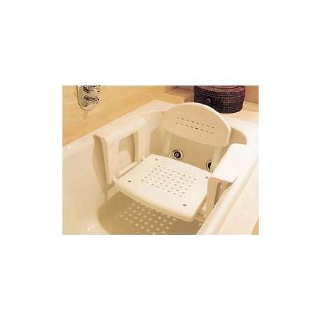 Sklep medyczny - Ławeczka wannowa z oparciem MOBILEX - siedzisko na wannę - sprzęt toaletowy dla niepełnosprawnych -Niska cena!