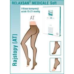RELAXSAN Rajstopy przeciwżylakowe medyczne I klasy ucisku 15-21 mmHg - Linia Medicale Soft