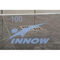 Brodzik podpłytkowy kwadratowy 100x100cm PODPOS 100 INNOW