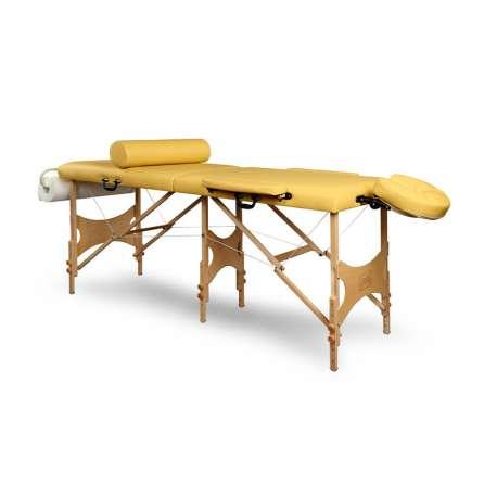 Stół do masażu drewniany przenośny TRIS 180x70 JUVENTAS