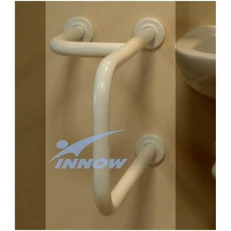 Podpora umywalkowa prawa/lewa z krytym mocowaniem 55 cm GK 105 INNOW