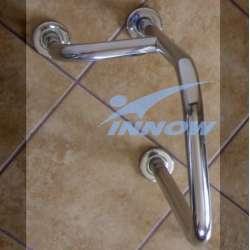 Podpora umywalkowa prawa/lewa z krytym mocowaniem 55 cm INOX GKN 105 INNOW