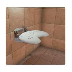 Siodełko nierdzewne prysznicowe uchylne INOX C 223 EVO INNOW