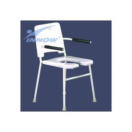 Krzesło sedesowe z poręczami stałymi C 202 INNOW