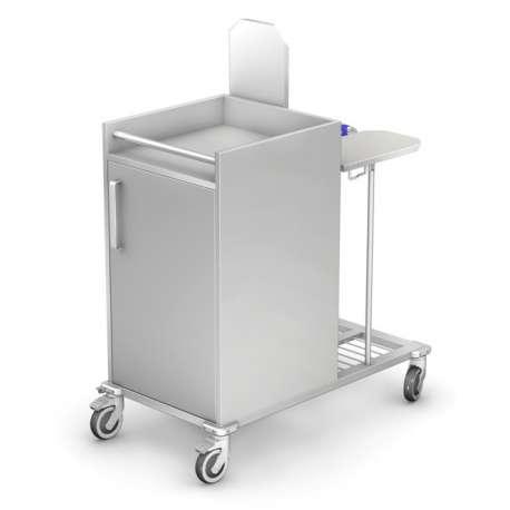 Wózek do czystej i brudnej bielizny WZB-03KO TECH-MED Bydgoszcz