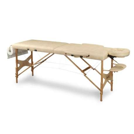 Stół do masażu DOPLO drewniany