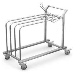 Wózek do przewożenia arkuszy papieru PAP-3 TECH-MED Bydgoszcz