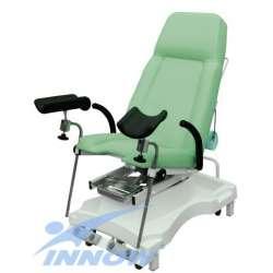 Fotel ginekologiczny (elektryczny) z pozycją Anty / Trendelenburga FZ 02 GINN AT INNOW