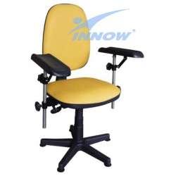 Krzesło do pobierania krwi (nie obrotowe) G 670 (blokowane) INNOW
