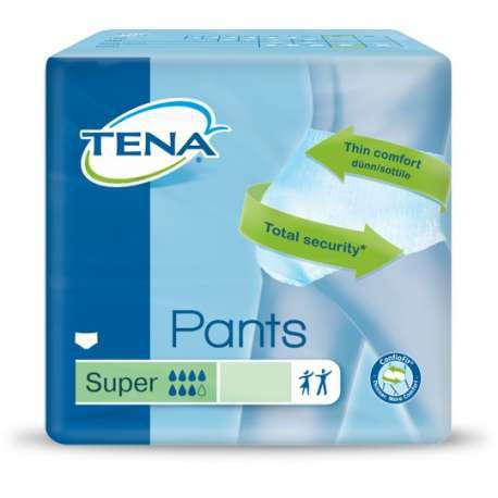Sklep medyczny - Majtki chłonne dla dorosłych Tena Pants Super M 12 szt - środki absorpcyjne SCA - Refundacja NFZ!!! Niska cena!