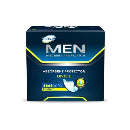 Sklep medyczny - Wkładki urologiczne dla mężczyzn Tena Men Level 2 20 szt - nietrzymanie moczu SCA - Refundacja NFZ! Niska cena!