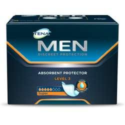 Sklep medyczny - Wkładki urologiczne Tena Men Level 3 20 szt dla mężczyzn - wyciek moczu SCA - Refundacja NFZ! Niska cena!