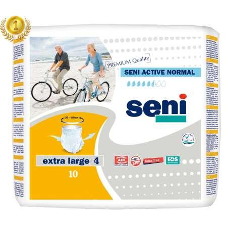 Sklep Medyczny - Majtki chłonne Seni Active Normal XL 10 szt pampersy dla dorosłych wyrób medyczny TZMO Refundacja NFZ Tanio!