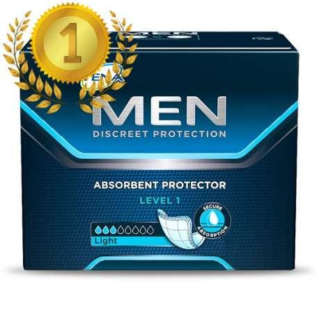 Sklep medyczny - Wkładki urologiczne dla mężczyzn Tena Men Level 1 24 szt - nietrzymanie moczu SCA - Refundacja NFZ! Niska cena!
