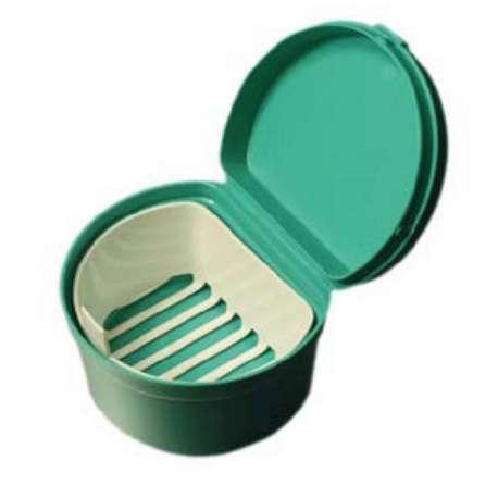 Sklep medyczny. Pudełko na protezę DNT REHA FUND - pojemnik na protezę zębową, higiena protez zębowych. Niska cena.