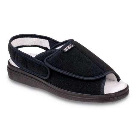 Sklep medyczny. Obuwie dr Orto 983 M czarny r.42 - leczenie, paluch koślawy, palce młotkowate, buty na szeroką stopę. Niska cena