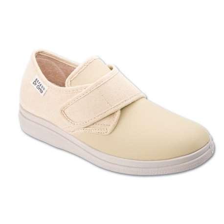 Sklep medyczny. Obuwie dr Orto 036 D beż r.38, 40- leczenie, paluch koślawy, palce młotkowate, buty na szeroką stopę. Niska cena