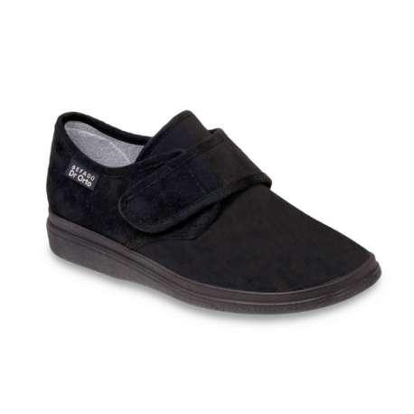 Sklep medyczny. Obuwie dr Orto 036 D czarny r.37, 40 - paluch koślawy, palce młotkowate, buty na szeroką stopę. Niska cena.
