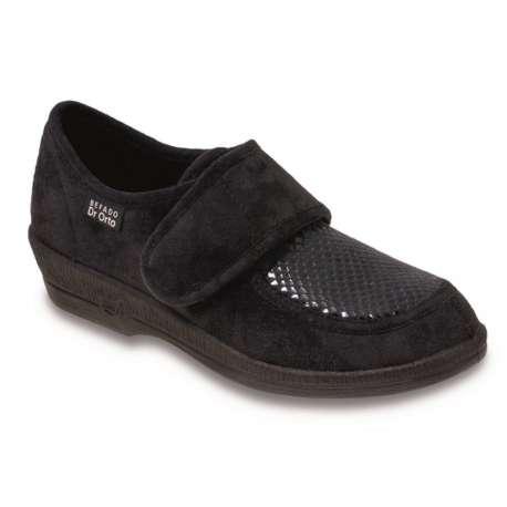 Sklep medyczny. Obuwie dr Orto 984 D czarny r.37 - stopa cukrzycowa, buty medyczne, elastyczne buty. Niska cena.