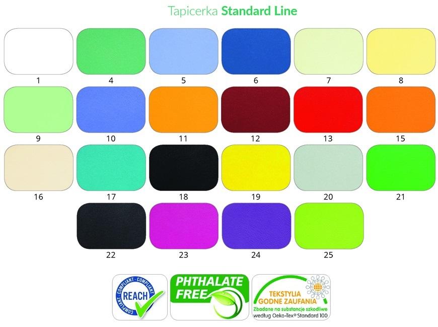 Paleta kolorów. W celu wyboru koloru zadzwońPaleta kolorów. W celu wyboru zadzwoń 735 575 252.