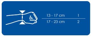 Orteza statyczna kciuka Ligaflex Rhizo THUASNE. Rozmiary: obwód nadgarstka 13-17 cm -1, 17-23 cm -2. Masz problem z kupnem – zamów telefonicznie 735 575 252