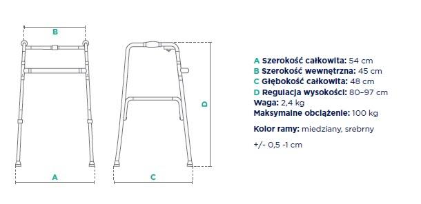 Balkonik dwufunkcyjny FS 913L TIMAGO. Masz  problem z kupnem – zamów telefonicznie 735 575 252