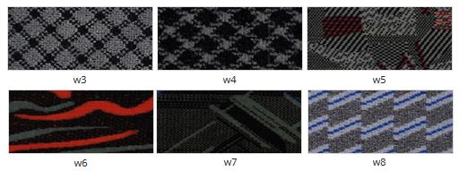 Półwałek lędźwiowy PL8 JUVENTAS wzory tapicerki. Masz problem z kupnem – zamów telefonicznie 735 575 252