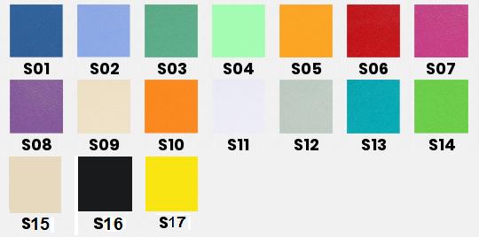 Leżanka stacjonarna LS-R02 WS TECH. Kolory tapicerki. Masz problem z kupnem – zamów telefonicznie 735 575 252